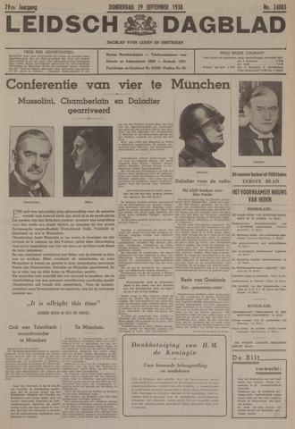 Leidsch Dagblad 1938-09-29