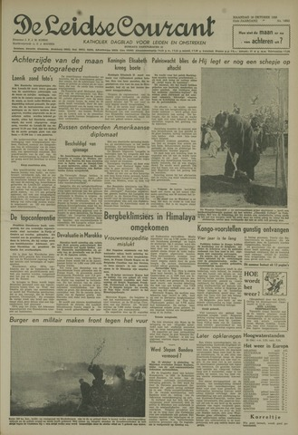 Leidse Courant 1959-10-19