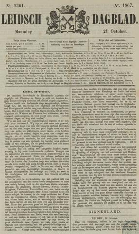 Leidsch Dagblad 1867-10-21
