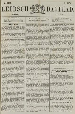 Leidsch Dagblad 1873-07-22