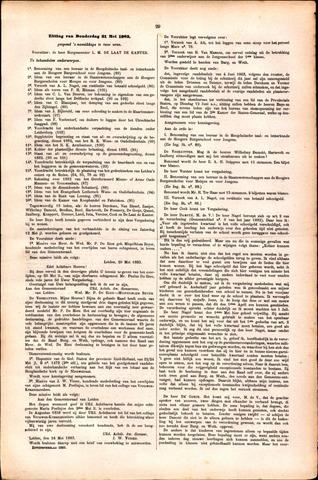 Handelingen van de Raad 1883-05-31