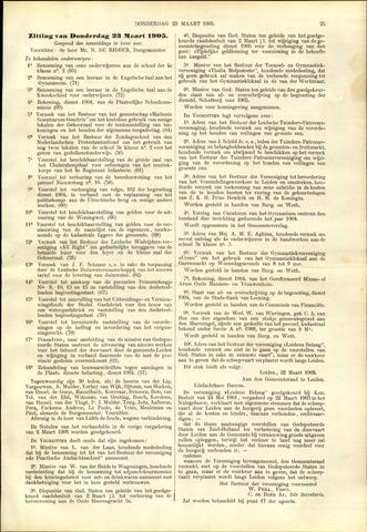 Handelingen van de Raad 1905-03-23