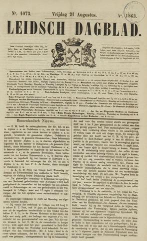 Leidsch Dagblad 1863-08-21