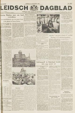 Leidsch Dagblad 1954-08-10
