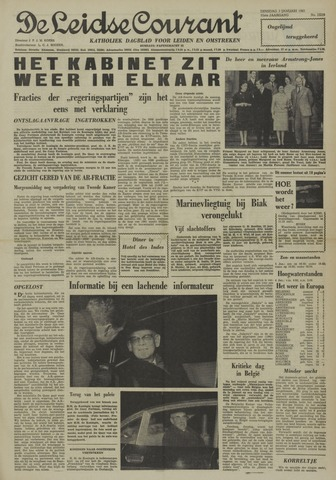 Leidse Courant 1961-01-03