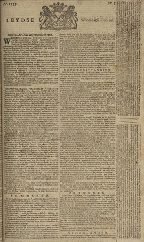 Leydse Courant 1759-01-17