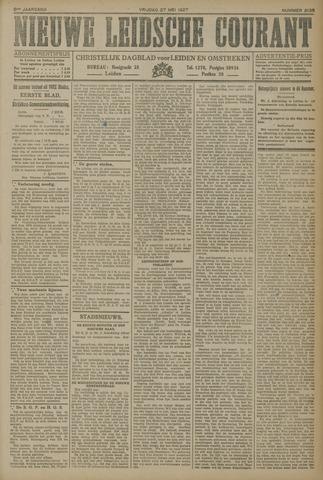 Nieuwe Leidsche Courant 1927-05-27