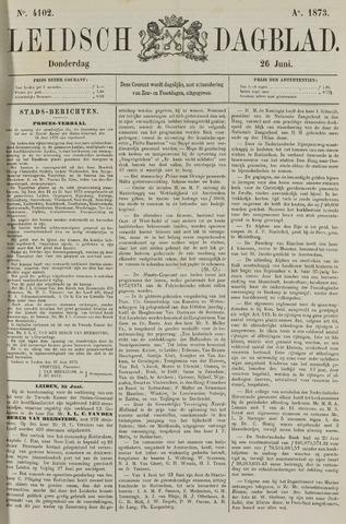 Leidsch Dagblad 1873-06-26