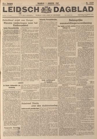 Leidsch Dagblad 1942-08-03