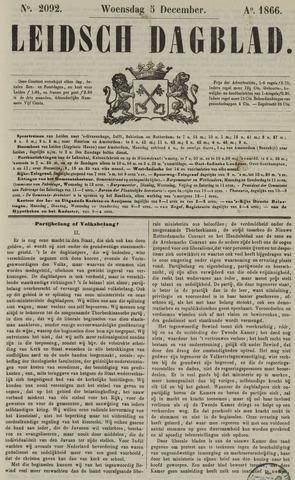 Leidsch Dagblad 1866-12-05