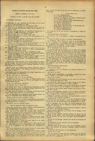 Handelingen van de Raad 1891-07-30