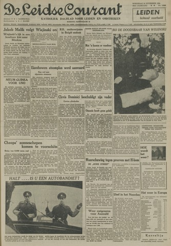 Leidse Courant 1954-11-24