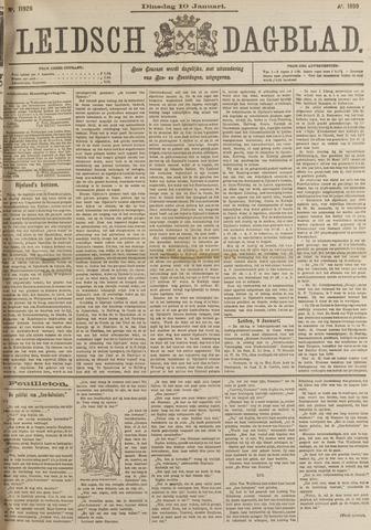 Leidsch Dagblad 1899-01-10