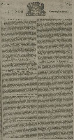 Leydse Courant 1734-03-31