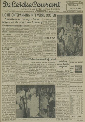 Leidse Courant 1958-09-10