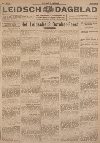 Leidsch Dagblad 1926-10-05