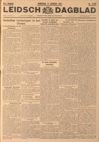 Leidsch Dagblad 1942-08-27