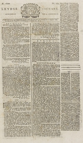 Leydse Courant 1820-08-23