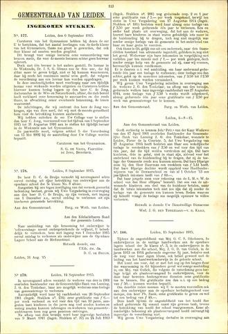 Handelingen van de Raad 1915-09-06