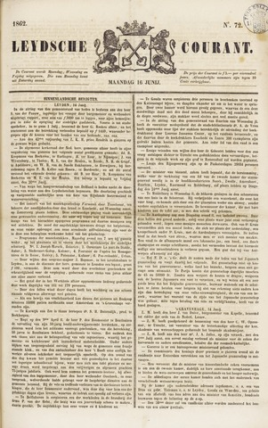 Leydse Courant 1862-06-16