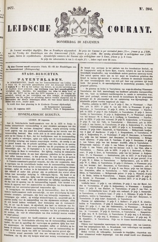 Leydse Courant 1877-08-30