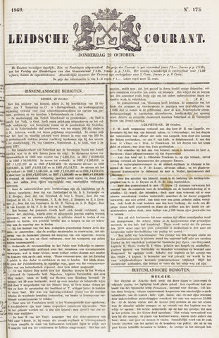 Leydse Courant 1869-10-21