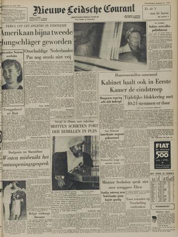 Nieuwe Leidsche Courant 1957-07-25