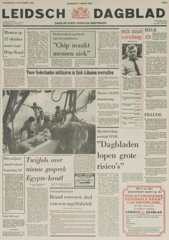 Leidsch Dagblad 1980-09-04