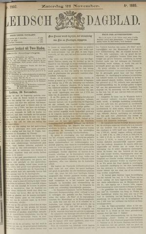 Leidsch Dagblad 1885-11-21