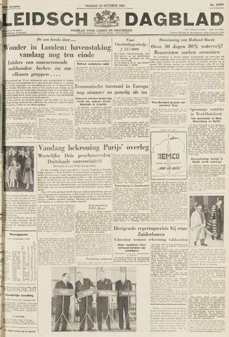Leidsch Dagblad 1954-10-22