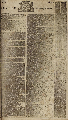 Leydse Courant 1752-11-22
