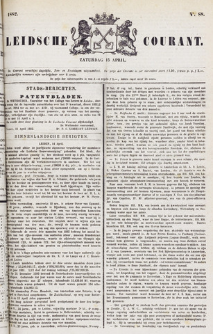 Leydse Courant 1882-04-15