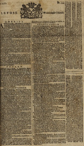 Leydse Courant 1777-09-03