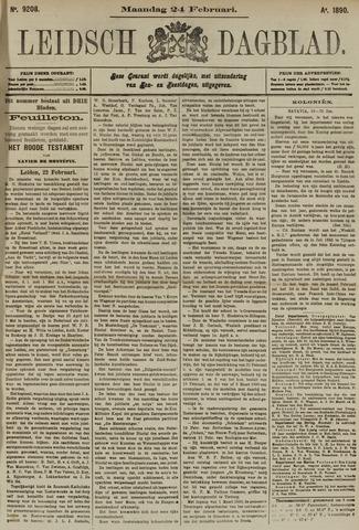 Leidsch Dagblad 1890-02-24