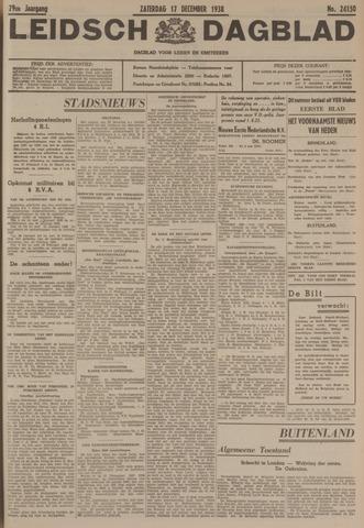 Leidsch Dagblad 1938-12-17