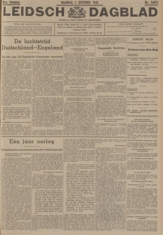 Leidsch Dagblad 1940-09-02