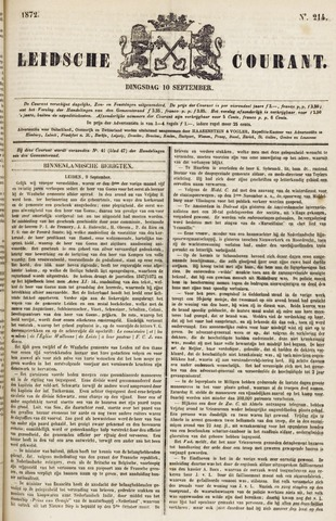 Leydse Courant 1872-09-10