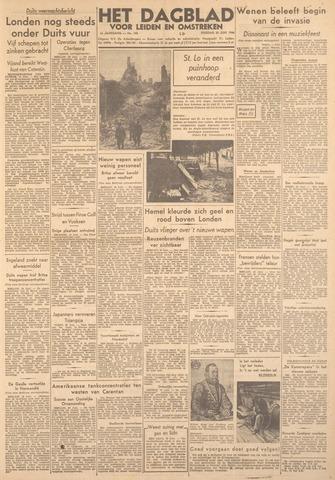 Dagblad voor Leiden en Omstreken 1944-06-20