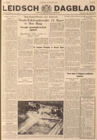 Leidsch Dagblad 1949-02-26