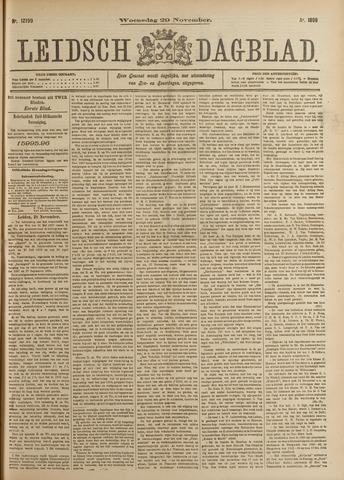Leidsch Dagblad 1899-11-29