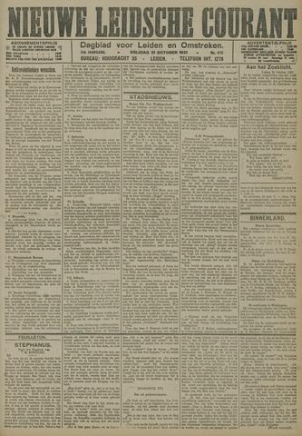 Nieuwe Leidsche Courant 1921-10-21