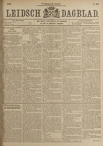 Leidsch Dagblad 1899-04-14