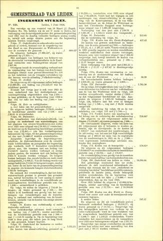 Handelingen van de Raad 1926-06-07