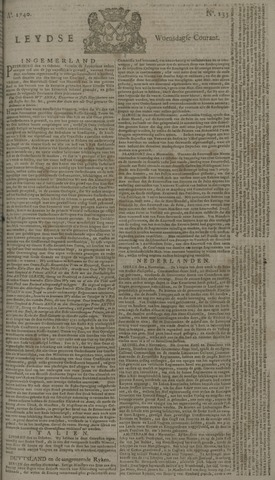 Leydse Courant 1740-11-09