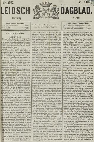 Leidsch Dagblad 1868-07-07