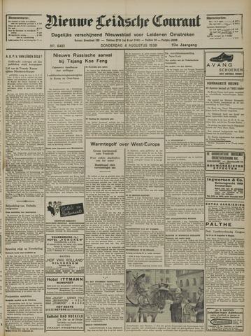 Nieuwe Leidsche Courant 1938-08-04