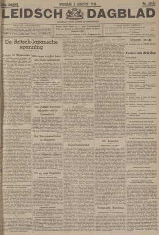 Leidsch Dagblad 1940-08-07