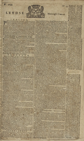 Leydse Courant 1754-03-18