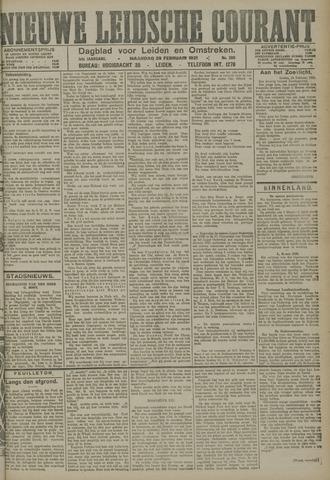 Nieuwe Leidsche Courant 1921-02-28