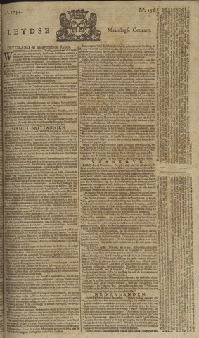Leydse Courant 1754-12-30